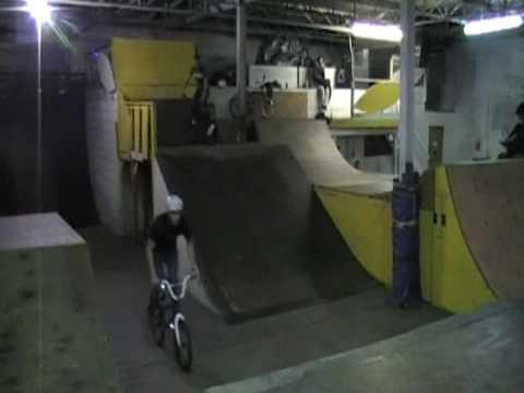 Alex Burton does Backflip