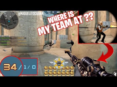 CARRYING MY TEAM ON MY BACK: 34/40 KILLS! Crossfire Legends Gameplay