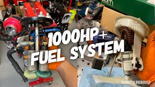 homepage tile video photo for BMW E36 TRIPLE FUEL PUMP INSTALL AND SWITCHED TO E85 FUEL