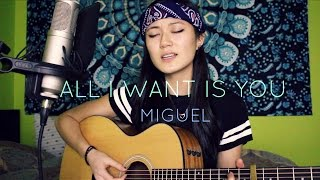 MIGUEL (ft. J Cole) - All I Want Is You [acoustic cover]