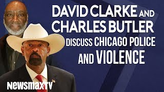 David Clarke and Charles Butler discuss Chicago police and violence