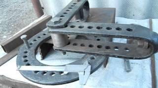 видео как сделать гибочный станок