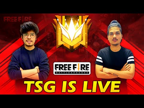 FREE FIRE LIVE || RUSH RANK PUSH TO HEROIC - TWO SIDE GAMERS IS LIVE WITH BOMB SQUAD from YouTube · Duration:  2 hours 58 minutes 6 seconds