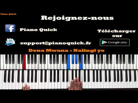 Dena Mwana - Nalingi Yo: Tutoriel Débutant PIANO QUICK