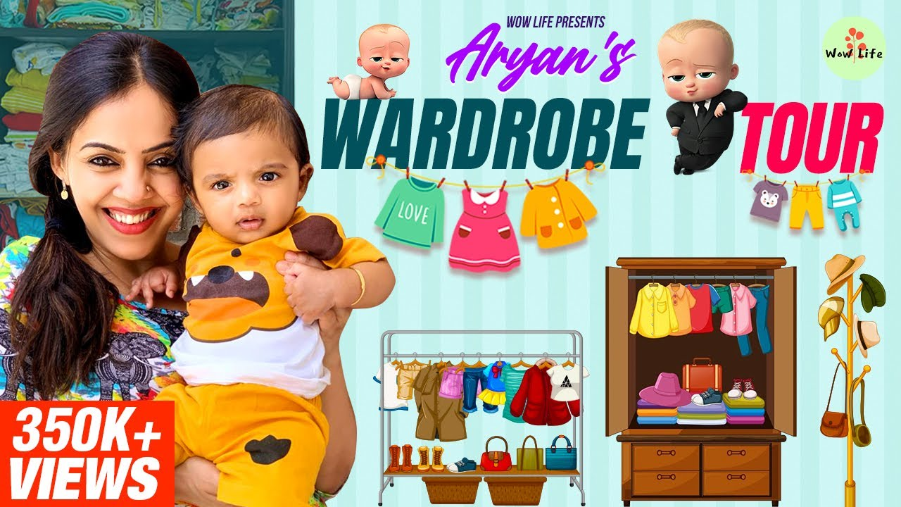 """Wow Life Presents """"Aryan's Wardrobe Tour"""" ft. Aryan & Ann #WardrobeTour #SahiSahiLagayaHai"""