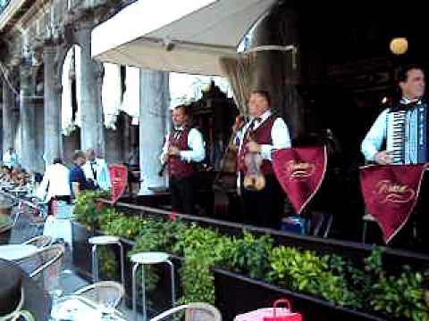 VENEZIA - PLAZA SAN MARCOS - CAFE FLORIAN - ITALIA