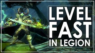 wow legion leveling guide awesome tips tricks to level faster 100 110