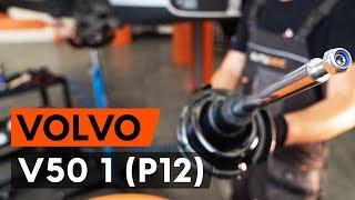 Csapágyazás, kerékcsapágy ház csere VOLVO V50 (MW) - kézikönyv
