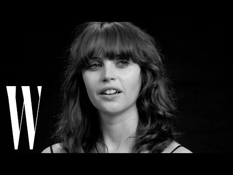 Felicity Jones on Star Wars, Her Crush on James Dean, and Her First Kiss  Screen Tests  W Magazine