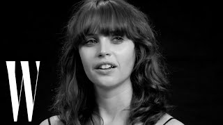 Felicity Jones on Star Wars, Her Crush on James Dean, and Her First Kiss | Screen Tests | W Magazine