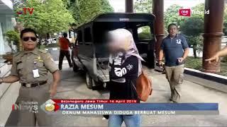 Satpol PP Bojonegoro Gelar Razia Mesum Rumah Kos, Petugas Amankan Mahasiswa Mesum - BIP 15/04