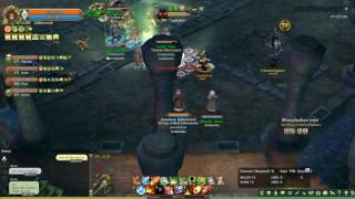 Tree of Savior - Earth tower 2f. Just a brief of what role I play o...