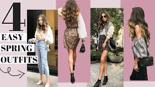 What I Wore This Week | 4 Practical Looks |  Look Book + Talk Through