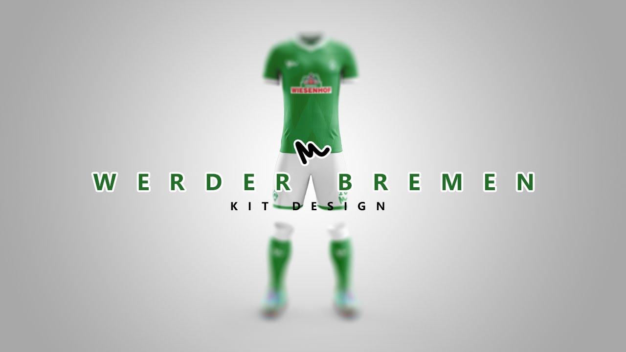 87c589d2a Werder Bremen Kit Design    Speed Art - YouTube