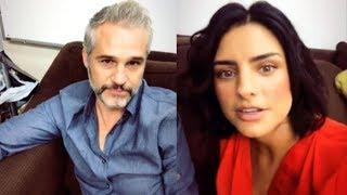 Aislinn Derbez le pregunta a su compañero Juan Pablo Medina si es gay