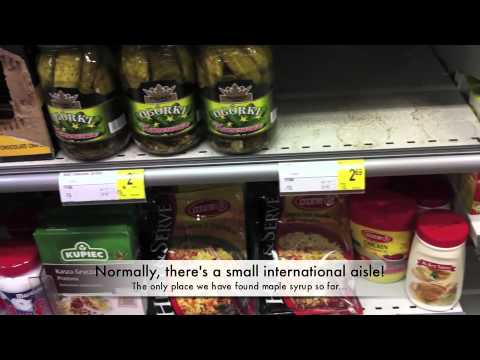 Surviving The Grocery Store (supermarket) In Belgium!