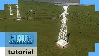 Tutorial: Working Custom Power lines [+Mods] | Cities: Skylines