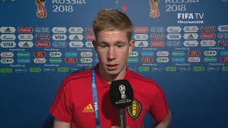 Kevin DE BRUYNE - Post Match Interview - Match 61