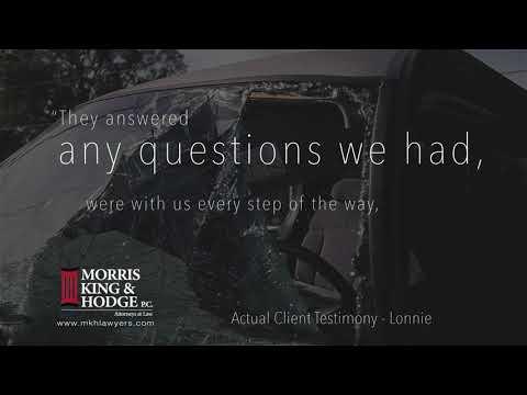 Morris King & Hodge Client Testimonial - Lonnie