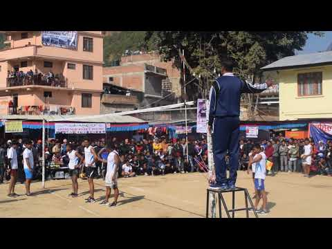 Myagdi festival–2074, Volleyball Beni Vs kusma/ बेनी र कुश्म