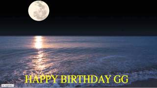 GG  Moon La Luna - Happy Birthday