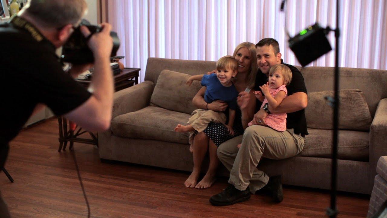 How To Shoot Family Portraits Inside