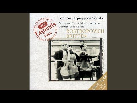 Schubert: Sonata For Arpeggione And Piano In A Minor, D. 821 - 2. Adagio