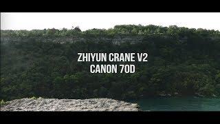 Zhiyun Crane V2 + Canon 70D Test Footage (WORTH IT FOR $550?!?)