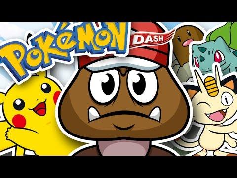 Pokemon Dash - The Lonely Goomba
