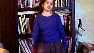 "Zoe Sings ""She Wears Short Skirts"""