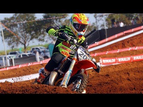 Brasileiro Motocross 2018 - 4a etapa Nova Alvorada do Sul - Categoria Junior H#202