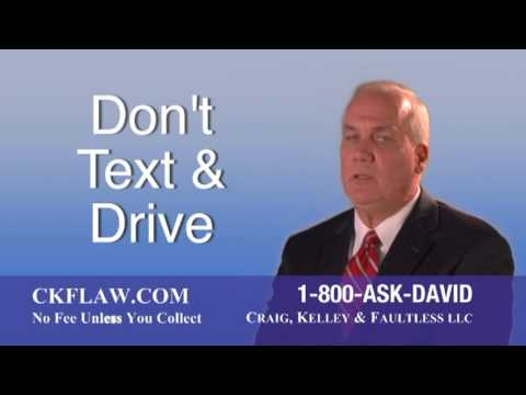 Don't Text and Drive Commercial