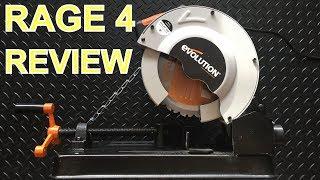 Evolution Rage 4 Chop Saw Review - A little gem!