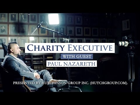 Talking with Paul Nazareth about fundraising in the charitable sector, crowdfunding, & personal dev