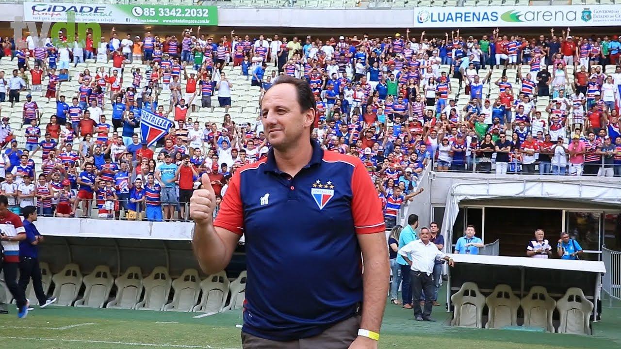 Apresentado oficialmente no Fortaleza, Rogério Ceni manda recado: 'vim aqui para ganhar'