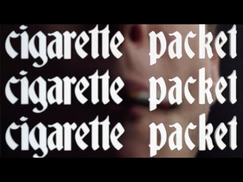 Sorry - Cigarette Packet