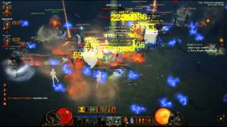 Weeping Hollow, triple drop (Diablo 3)