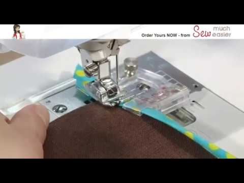 How To Sew Bias Binding In One Easy Step With The Adjustable Bias
