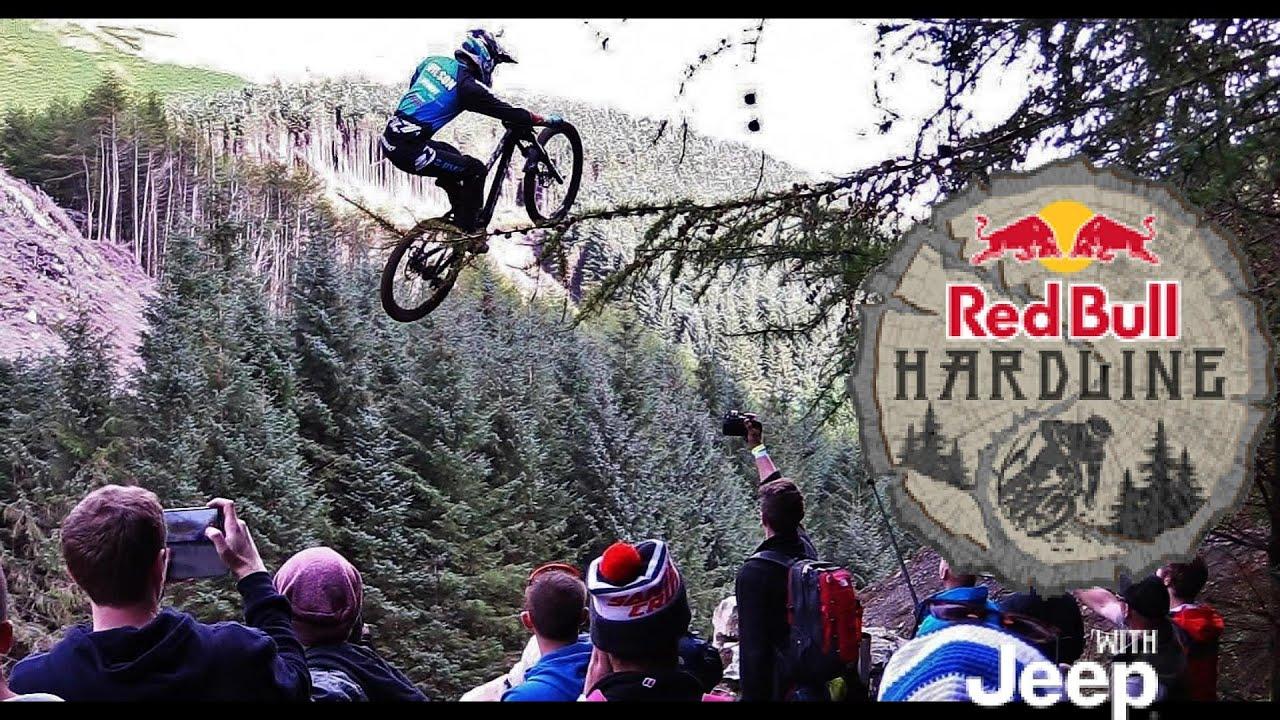 hardcore downhill mtb racing red bull hardline youtube