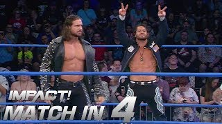 Johnny Impact & Matt Sydal vs EC3 and Tyrus: Match in 4 | IMPACT! Highlights Feb. 15, 2018