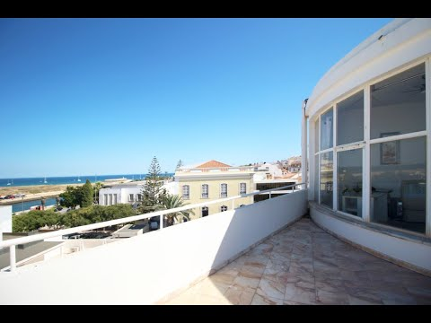 Office with panoramic views from Lagos marina to the sea, set in Lagos town centre, Portugal.