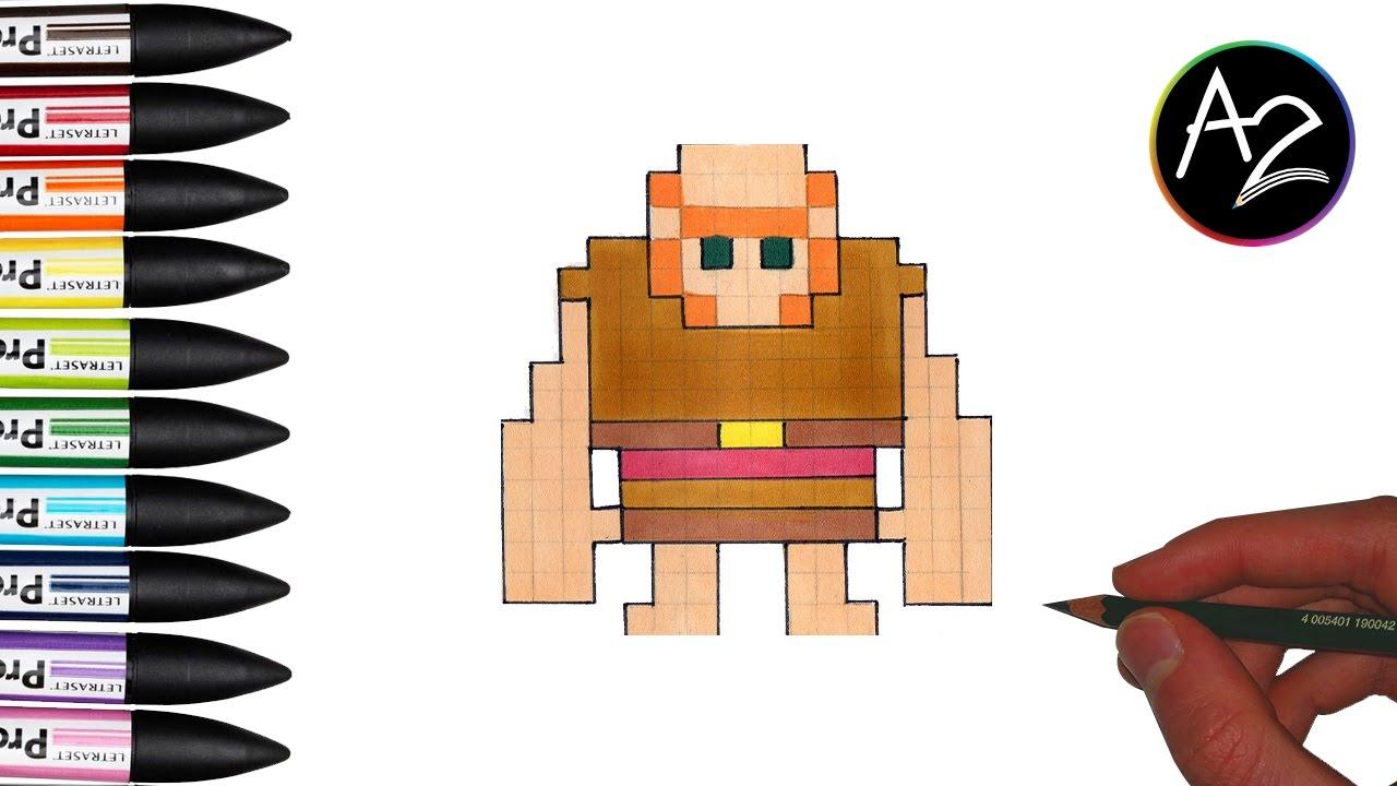 pixel art clash royal