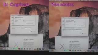 "Geekbench 3-64bit test on El Capitan vs Yosemite on MacBook Pro 15"""