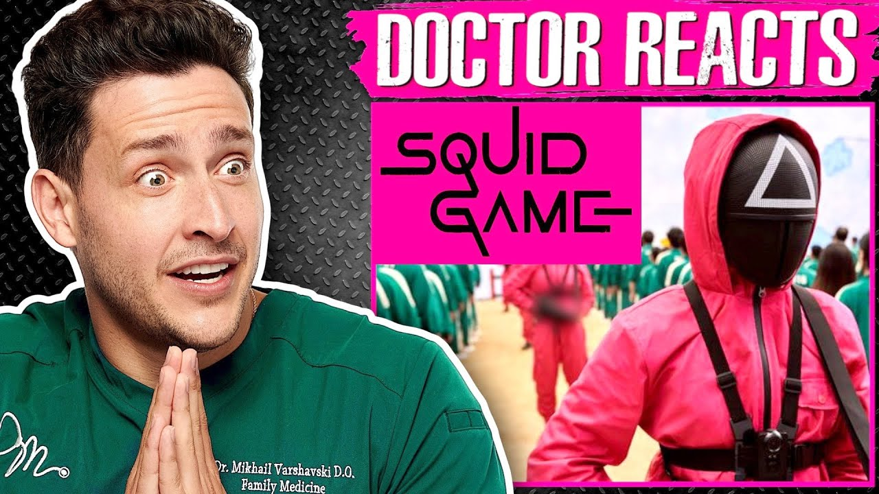 Doctor Reacts To Squid Game Injuries