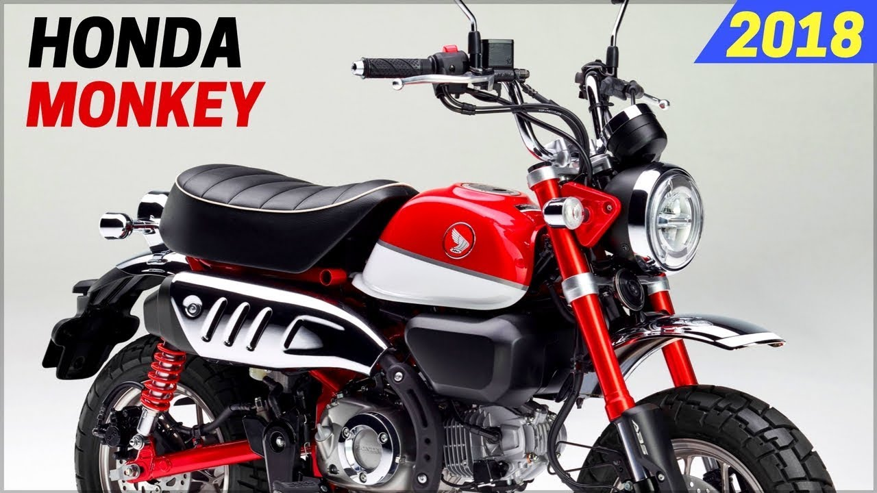 new 2018 honda monkey 125 announced for europe market with new design youtube. Black Bedroom Furniture Sets. Home Design Ideas