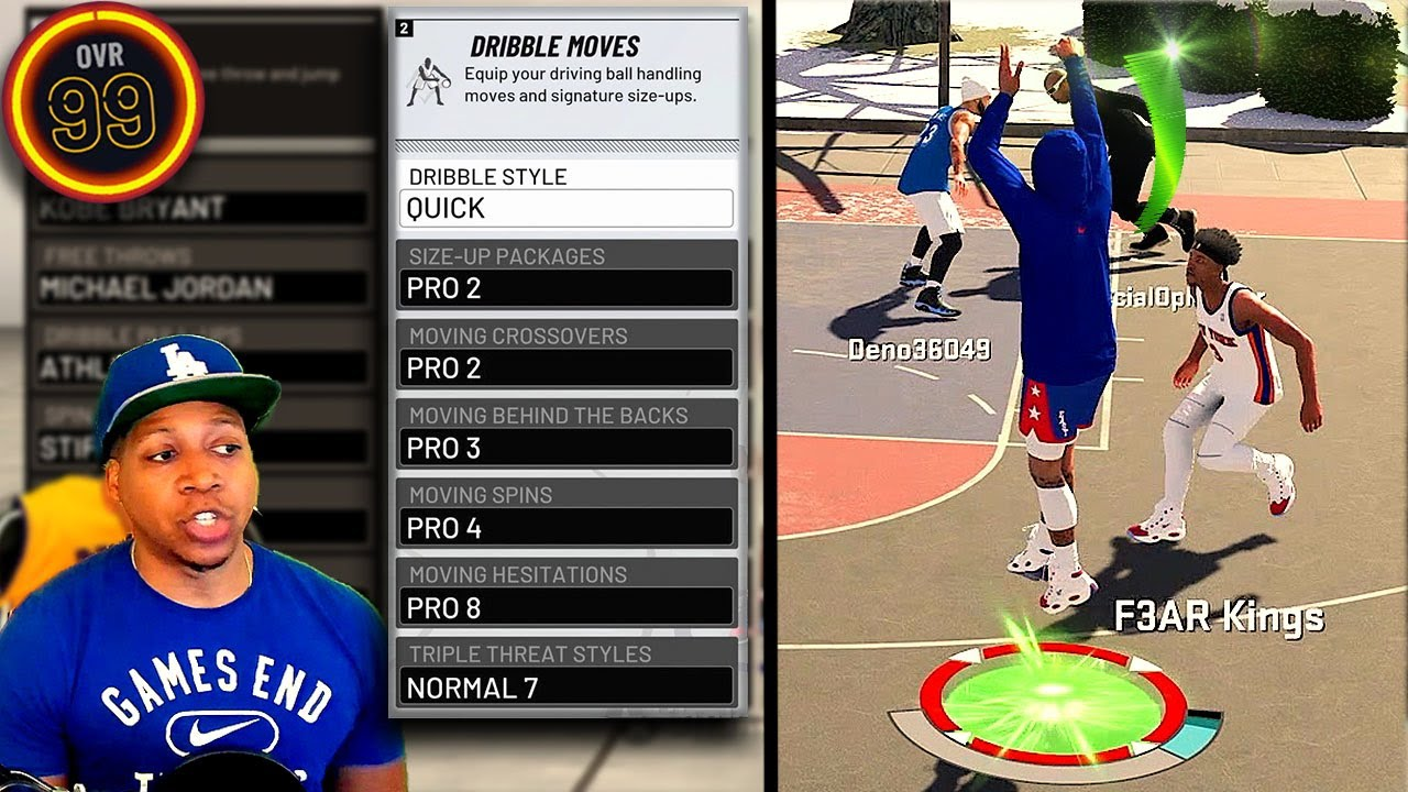 Best Dribble Animations Momentum Dribble Tips Automatic Greens Nba 2k20 Youtube