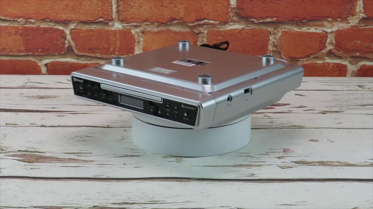 Soundmaster Ur2090si Under Cabinet Fm Kitchen Radio With Bluetooth