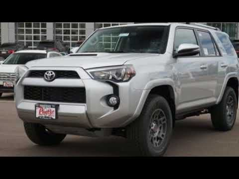 New 2018 Toyota 4Runner Pueblo CO Colorado Springs, CO #186613