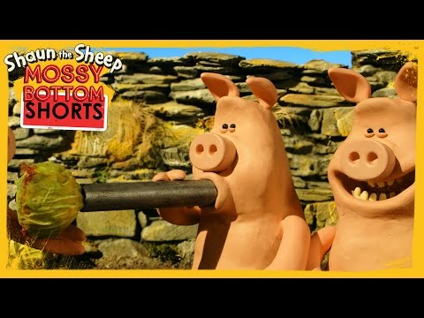 Sprout Shooters  Shaun the Sheep Full Episode