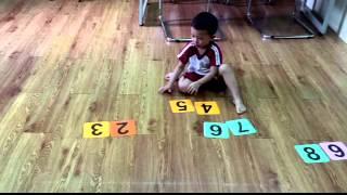 Bé sắp số hàng trăm _ NGUYỄN CHÍ PHONG - Nursery 3.2